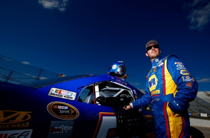 NAPA Auto Parts driver Martin Truex Jr. at Martinsville Speedway