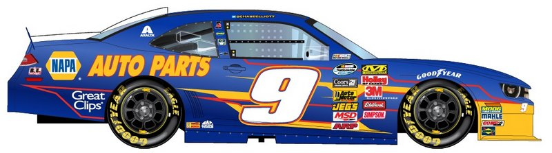 Napa Auto Parts To Sponsor Chase Elliott In The Nationwide Series