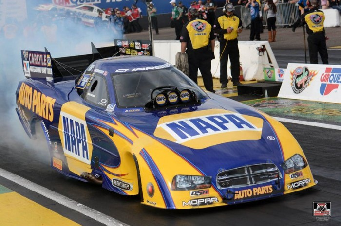 Capps, NHRA, NAPA Dodge Funny Car, Phoenix, 2014, Drag Racing
