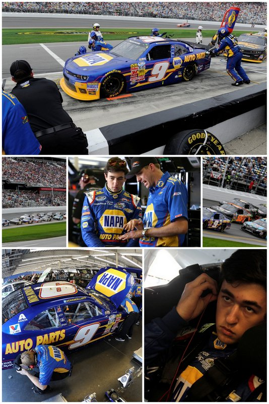 Chase Elliott, NAPA Chevrolet, Nationwide Series, Daytona