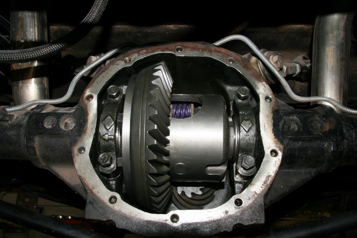 Most people don't even know what a differential is until it starts groaning. A fluid change is cheap insurance.