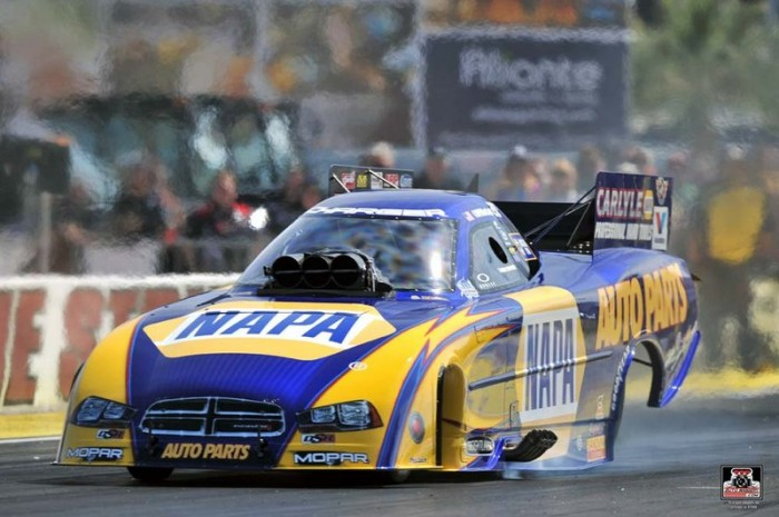 NAPA AUTO PARTS Dodge Charger RT Ron Capps Las Vegas 2014