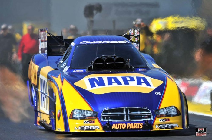 Ron Capps NAPA Dodge Funny Car Gatornationals 2014_front