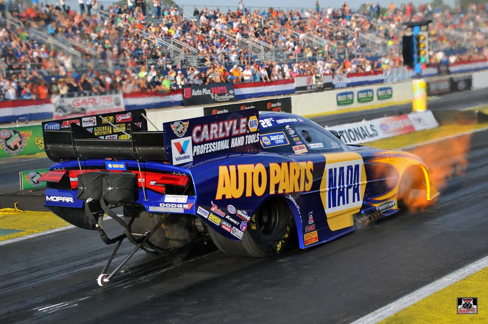Ron Capps NAPA Dodge Funny Car Gatornationals 2014_launch