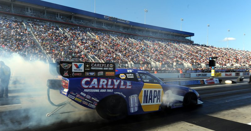 Capps Zmax Four-Wide Nationals 2013 burnout NAPA Dodge Charger NHRA Funny Car