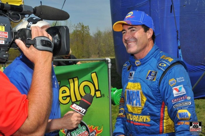 Capps Zmax Four-Wide Nationals 2014 NAPA Dodge Charger NHRA Funny Car Interview