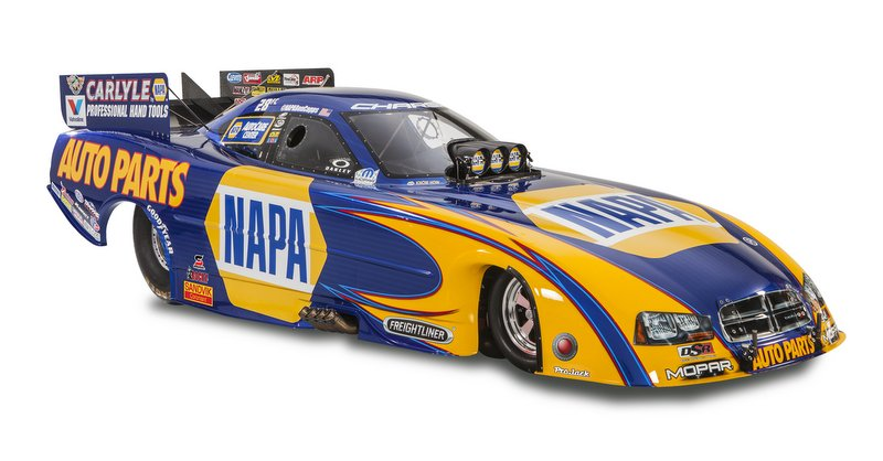 Ron Capps funny car 2014