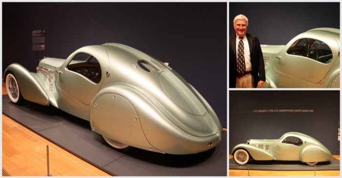 1935 Bugatti Type 57S Competition Coupe Aerolithe Ken Gross collage Dream Cars High Museum - NAPA Know How Blog