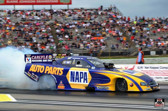 Burnout - Ron Capps, NAPA Team Advance to Another NHRA Semifinals Round