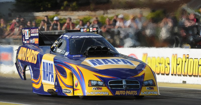 Funny Car, NAPA Auto Parts, Ron Capps, NHRA Kansas National, Topeka, Mello Yello Drag Racing Series