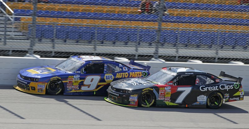 Iowa Speedway, 2014, NASCAR, Nationwide Series, Chase Elliott, NAPA AUTO PARTS