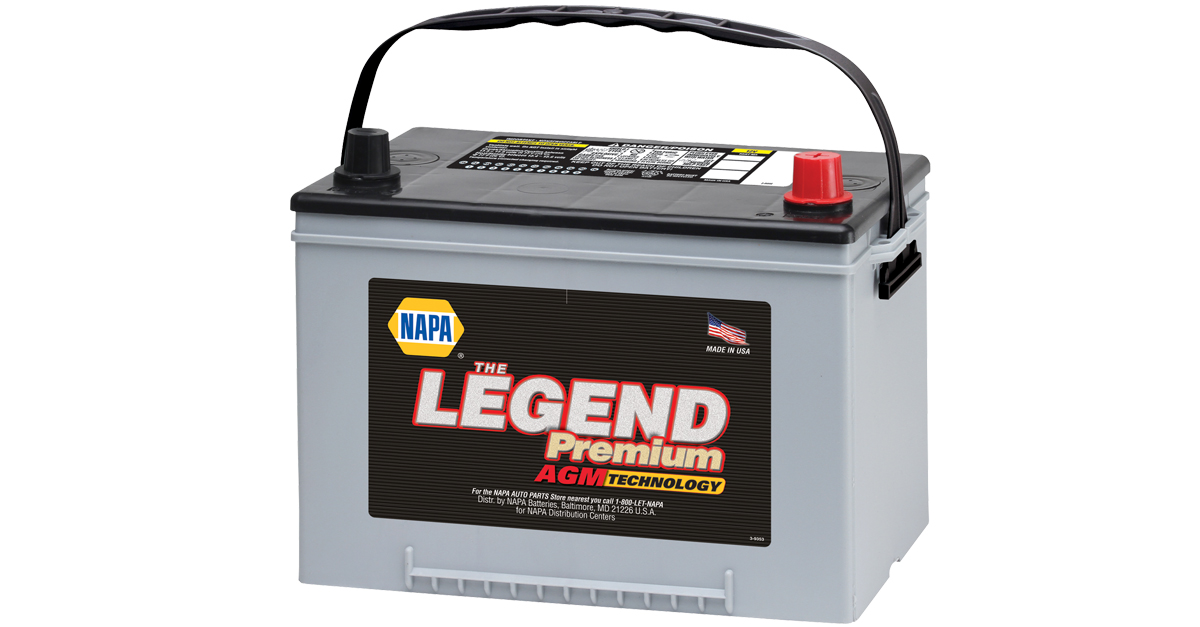 NAPA Legend Premium AGM Battery