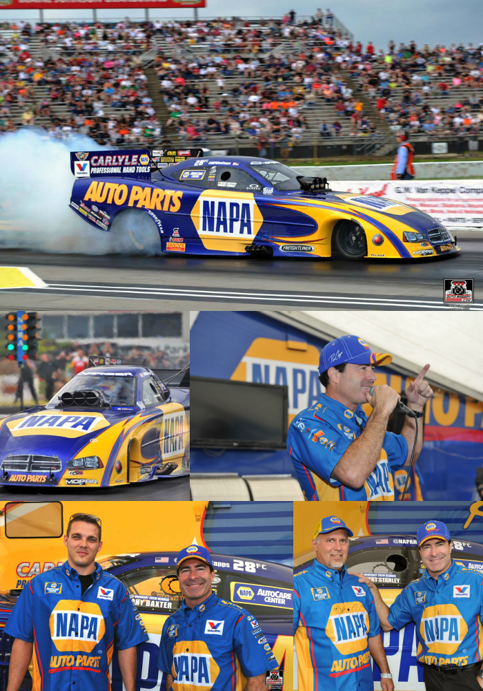 Ron Capps, NAPA Team Advance to Another NHRA Semifinals Round