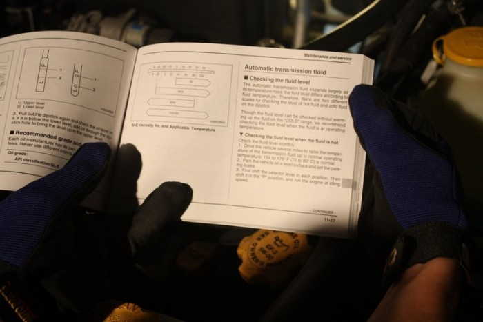 how to maintain your transmission NAPA Know How check transmission fluid owners manual