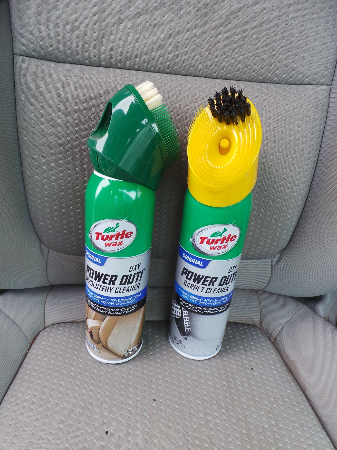 Carpe Clean Em How To Clean Your Car S Upholstery