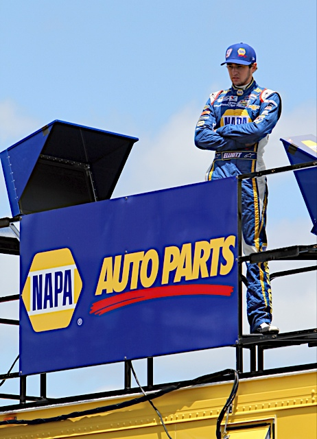 Chase Elliott NAPA AUTO PARTS NASCAR NNS Michigan 2014 tower