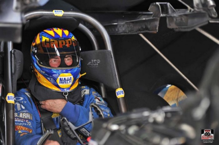 Ron Capps NAPA AUTO PARTS Dodge Charger RT Funny Car Englishtown 2014 prep