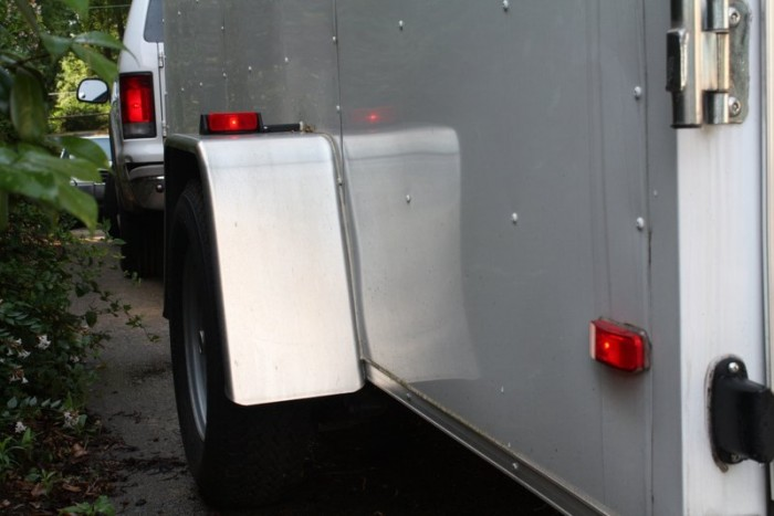 safe towing tips NAPA KNOW HOW enclosed trailer