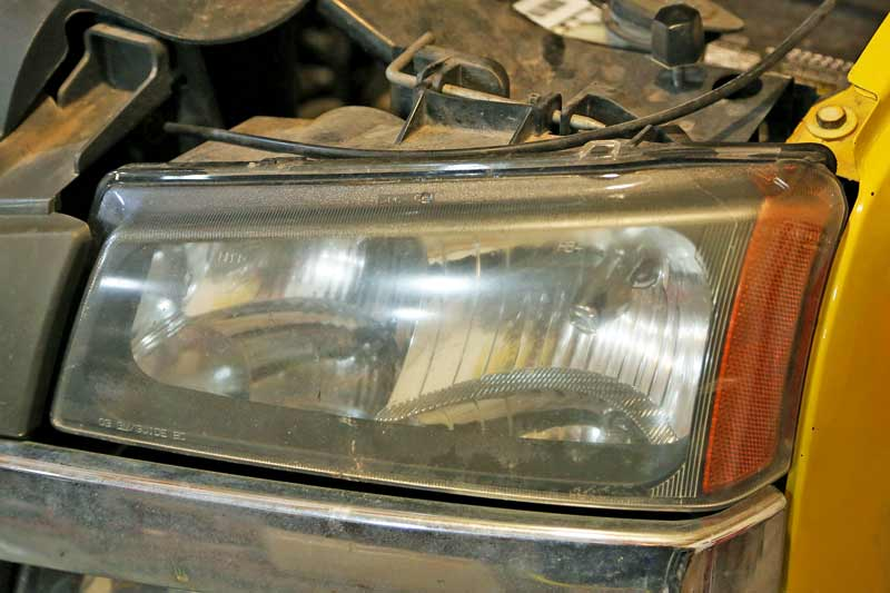 When you change a headlight bulb it is easier if you can remove the housing. Most modern vehicles have this feature.