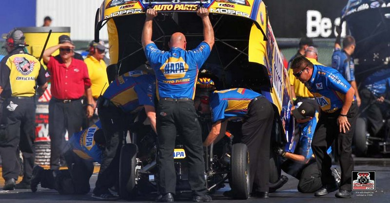Capps, NAPA Team Remain Third in NHRA Funny Car Standings after Sonoma