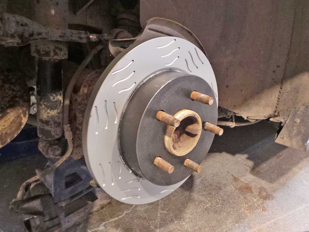 The Reactive One rotors are a direct fit, no issues here.