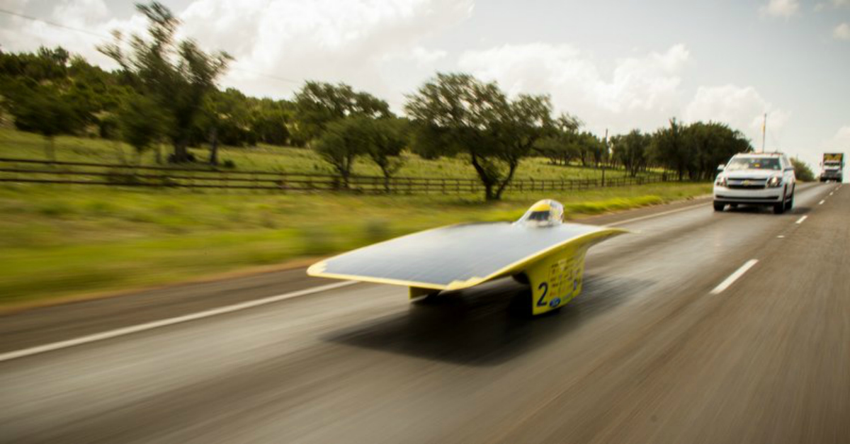 NAPA Sponsors University of Michigan Solar Car