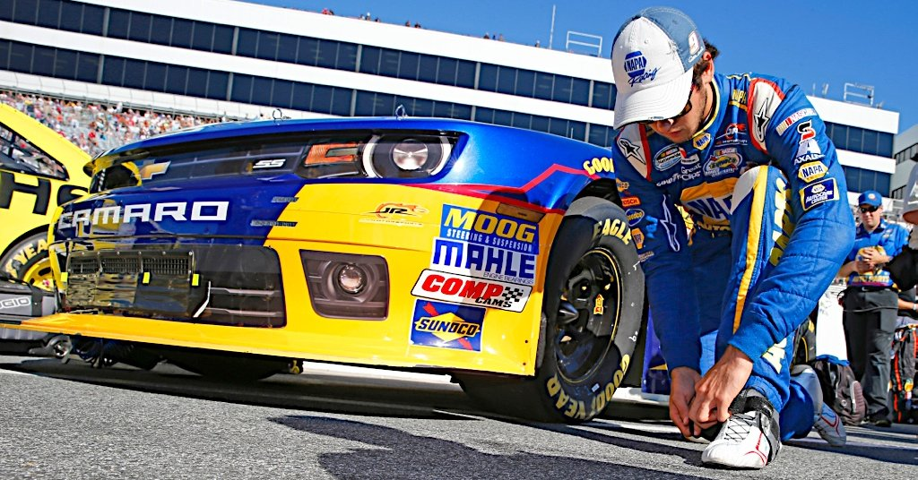 Chase Elliott during the Dover 200 at Dover International Speedway in Dover, DE.