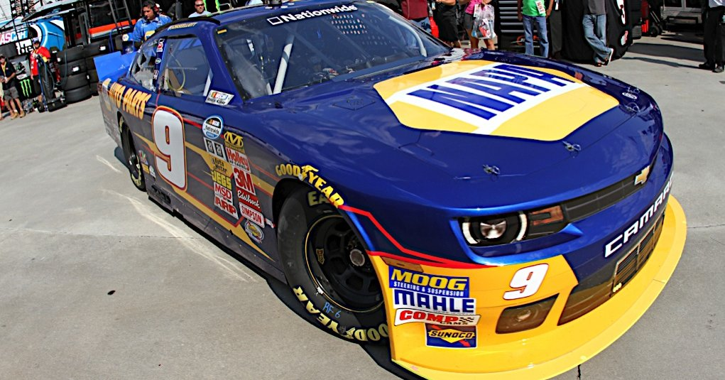 Chase Elliott during practice for the Great Clips 300 at the Atlanta Motor Speedway in Hampton, GA.