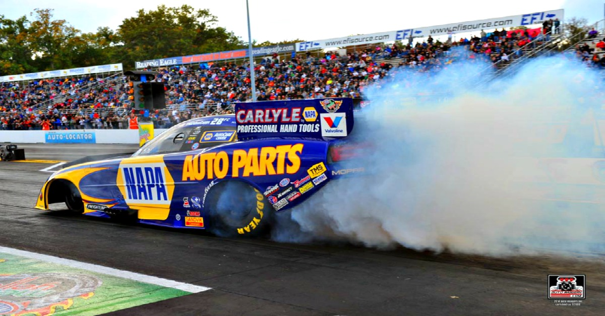 Too Much Power Sidelines Ron Capps, NAPA Dodge Maple Grove