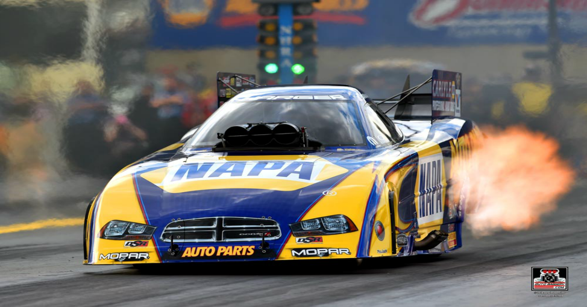 Ron Capps heading for more success at Las Vegas when Countdown resumes