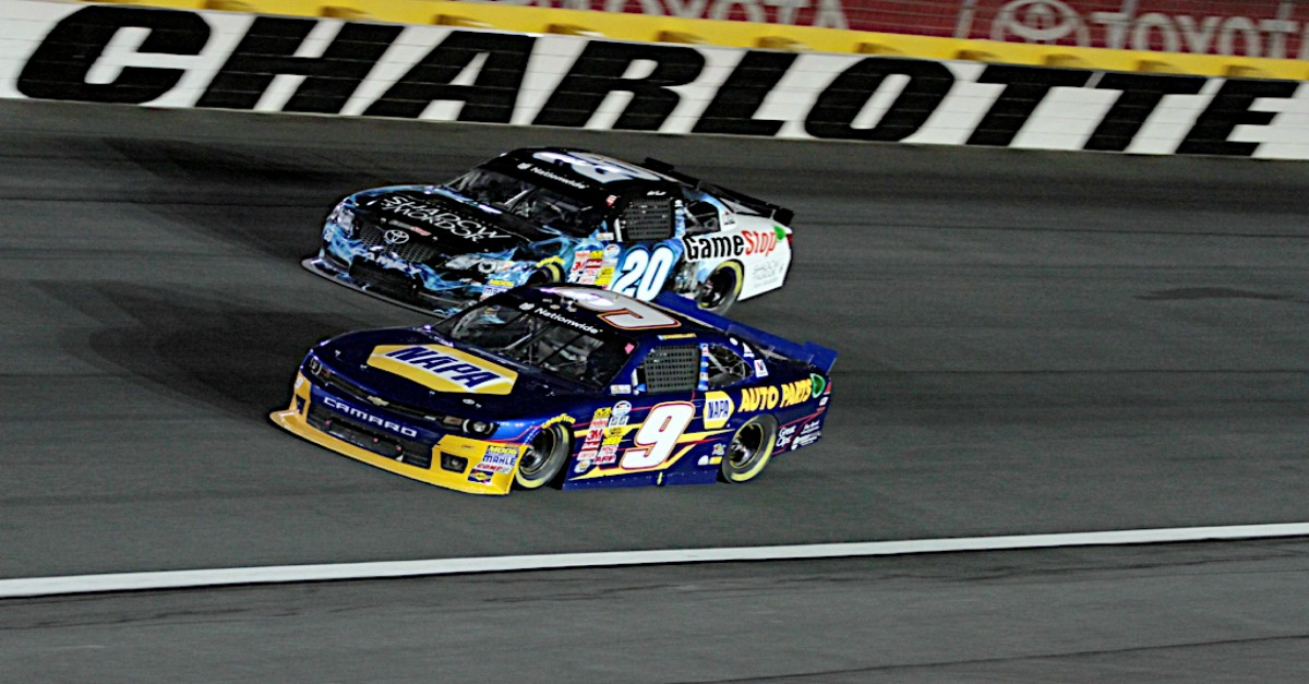 Chase Elliott Boosts Points Lead With Top-10 Run at Charlotte
