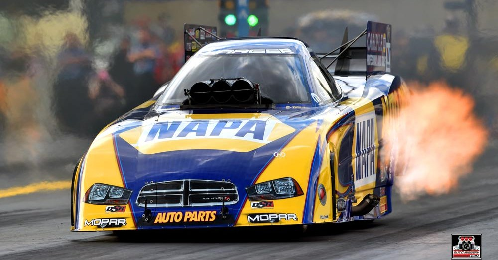 Ron Capps NHRA Funny Car Maple Grove 2014