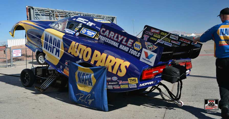 Ron Capps NAPA AUTO PARTS Dodge Charger R/T