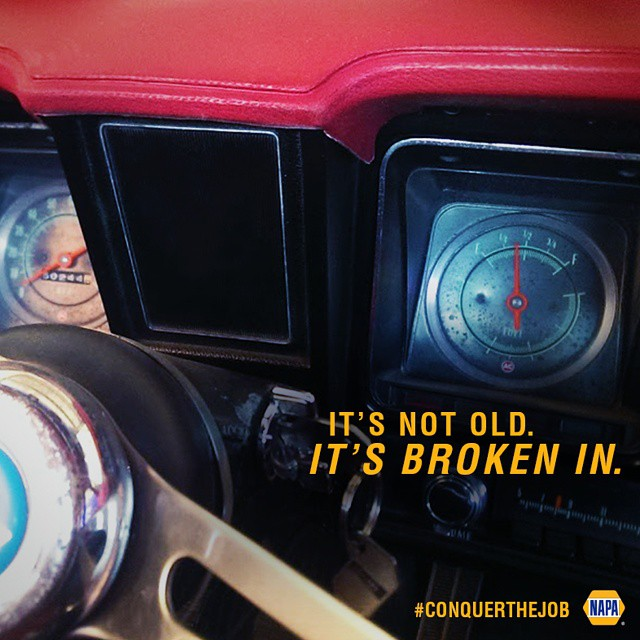 When things stand the test of time, it's a win. #ConquerTheJob  #classic #time #cars #trucks, #NAPAKnowHow #NAPAAUTOPARTS
