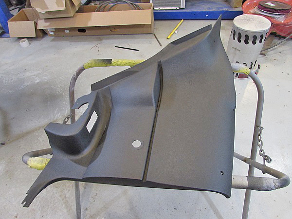 We used the same process on all 4 door/rear seat trim panels so that they would match.