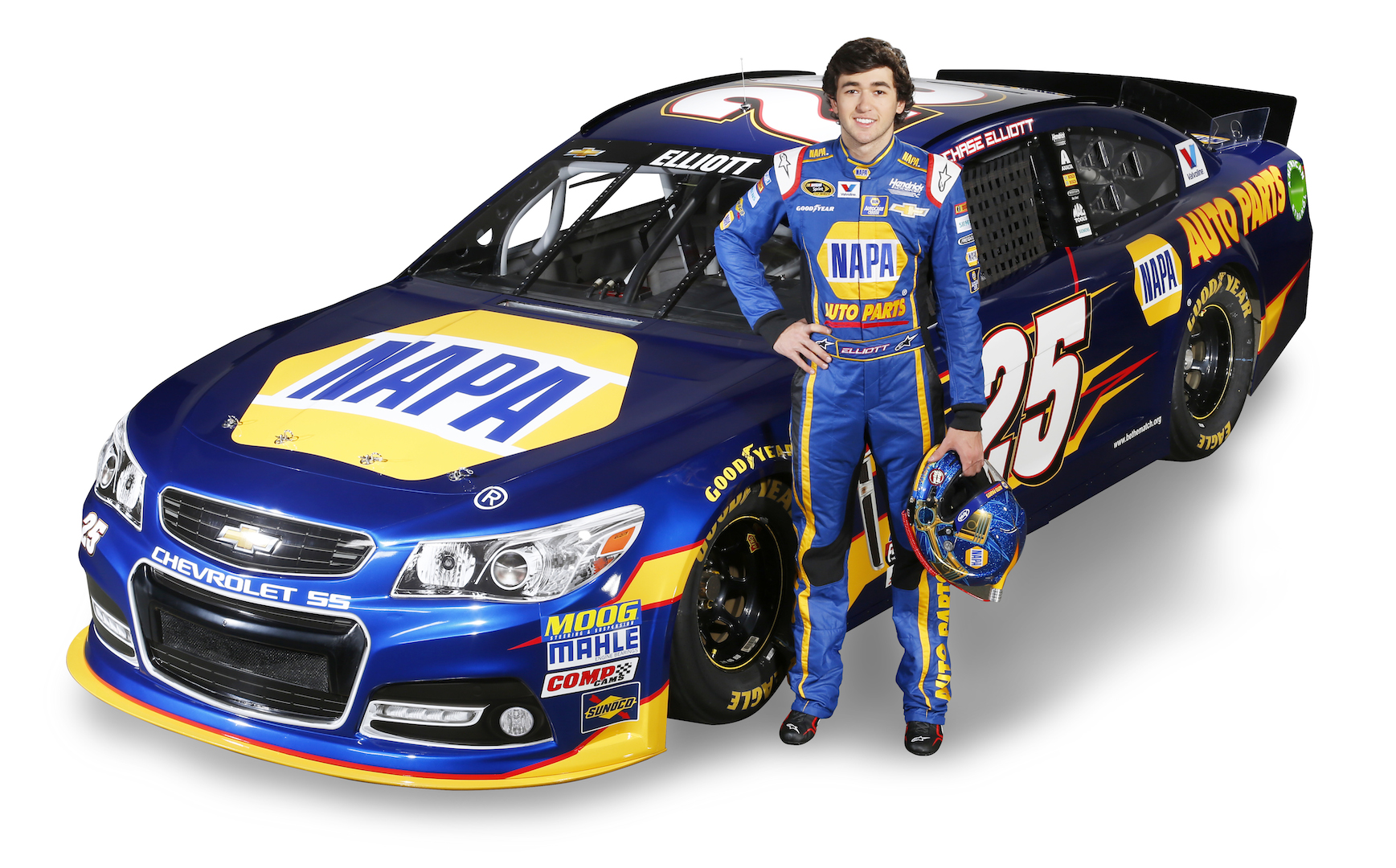 Chase Elliott will join Hendrick Motorsports as a full-time Sprint Cup driver beginning in 2016.