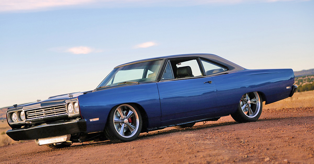 Supercharged 1969 Plymouth Road Runner