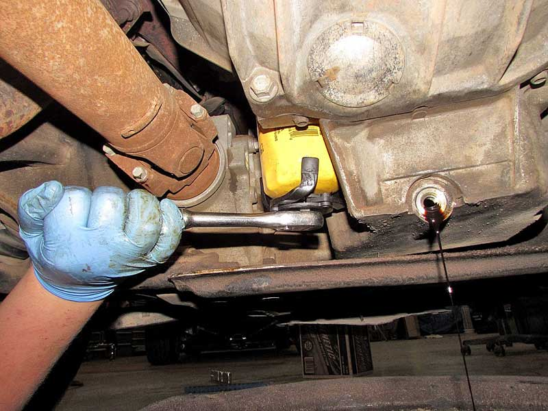 Practice safe wrenching, use rubber gloves.