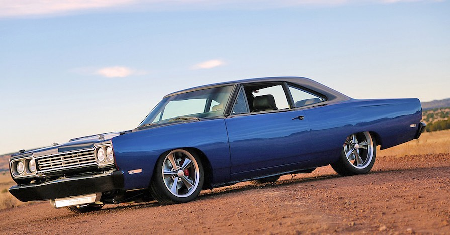 red dirt hot rod - supercharged 1969 plymouth road runner