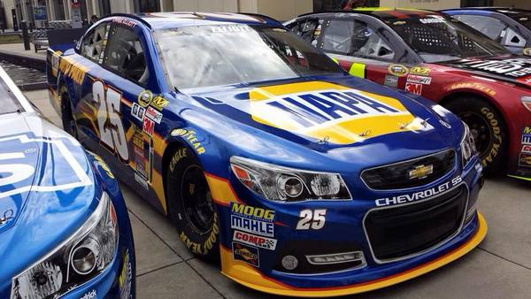 No 25 NAPA AUTO PARTS Chevrolet SS Chase Elliott Sprint Cup