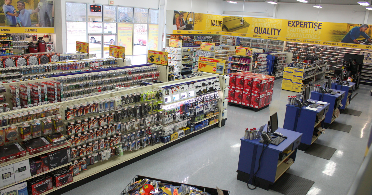NAPA AUTO PARTS Merchant's Walk Grand Opening high angle