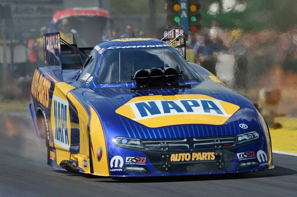 Ron Capps NAPA AUTO PARTS 2015 Gatornationals Winner - launch