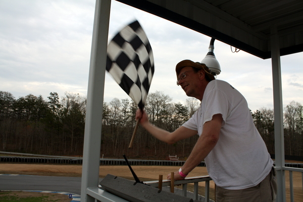 SCCA Track Night in America - NAPA Know How blog checkered flag