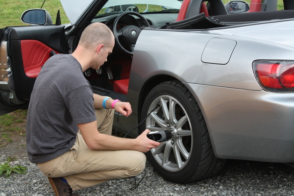 SCCA Track Night in America - NAPA Know How blog tire pressure