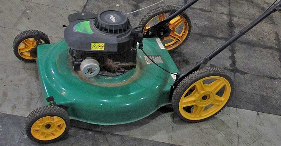 De-winterize your lawn mower