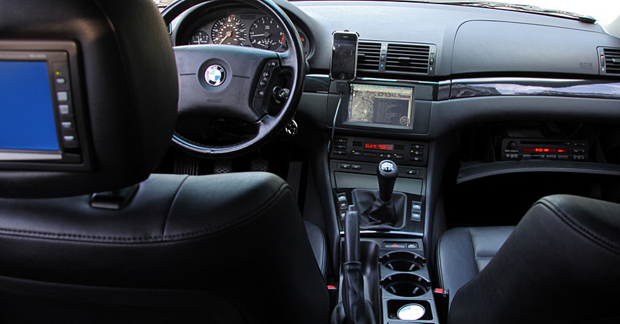 BMW outfitted with the latest automotive technology