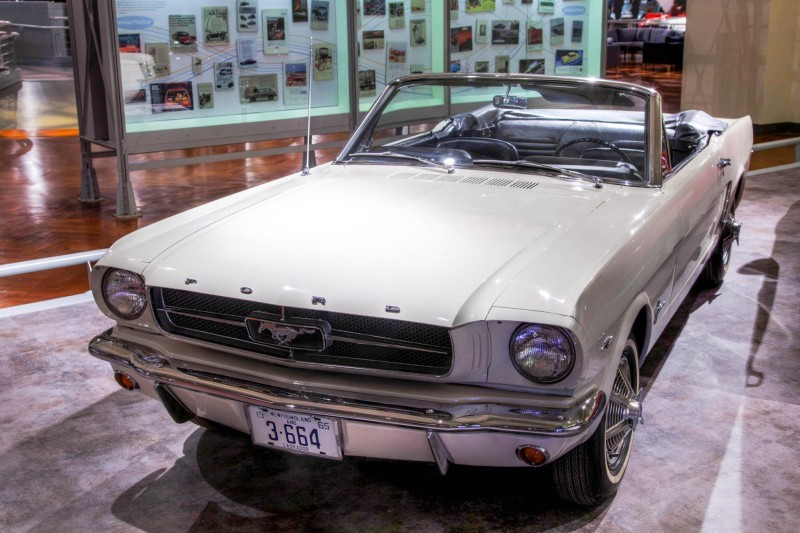 1964 Ford Mustange Convertible serial number one