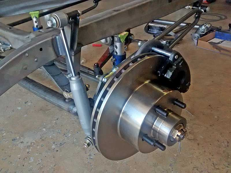 This Is The New Front Suspension Most Obvious Changes Are Addition Of A