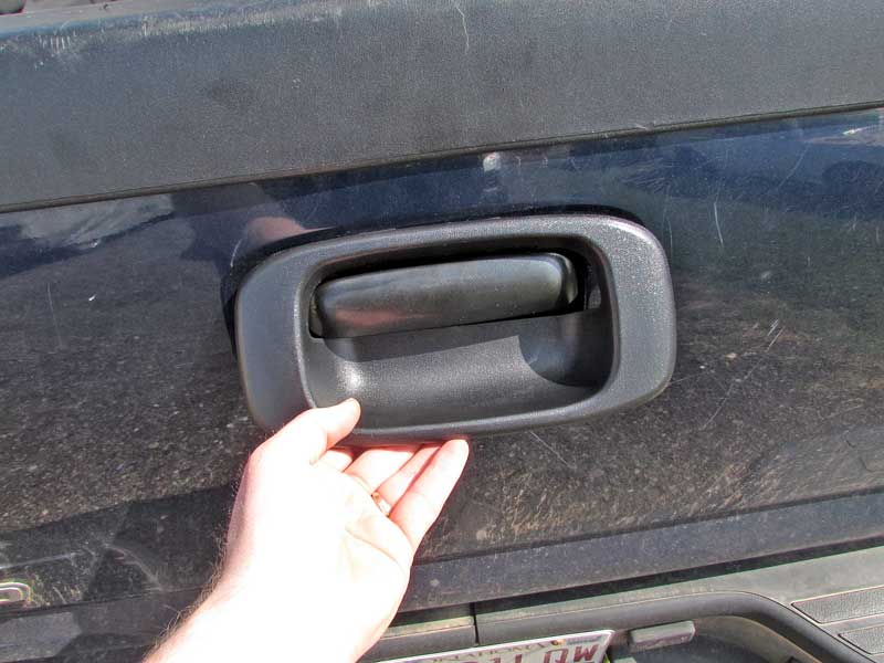 Know How Notes Broken Tailgate Handle Repairnapa Know How Blog