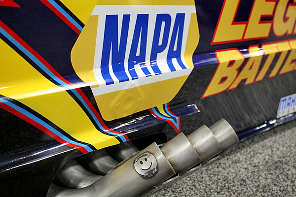 NAPA EXPO cars John Lombardo Jr Top Alcohol Funny Car pipes smile